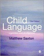 bokomslag Child Language