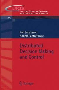 bokomslag Distributed Decision Making and Control