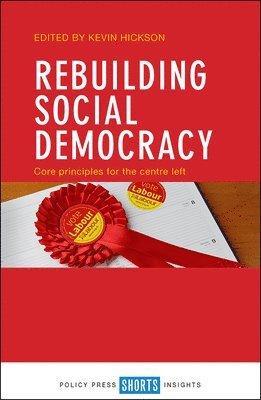 bokomslag Rebuilding Social Democracy
