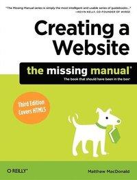 bokomslag Creating a Website: The Missing Manual