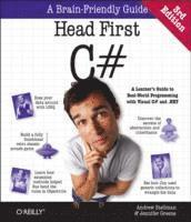 bokomslag Head First C#: A Learner's Guide to Real-World Programming with C#, XAML, and .NET