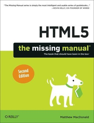 bokomslag HTML5: The Missing Manual