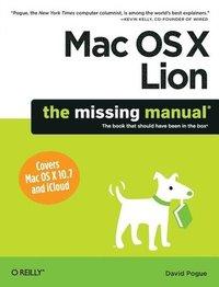 bokomslag Mac OS X Lion: The Missing Manual