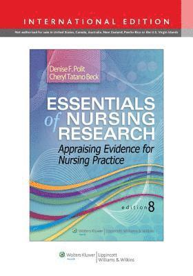 bokomslag Essentials of Nursing Research