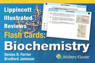 bokomslag Lippincott Illustrated Reviews Flash Cards: Biochemistry