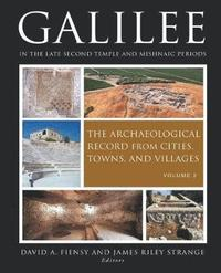 bokomslag Galilee in the Late Second Temple and Mishnaic Periods: Volume 2