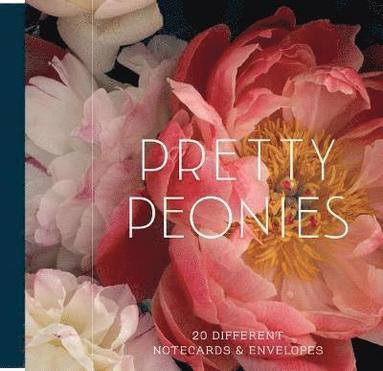 Dubbelvikta kort med kuvert Pretty Peonies