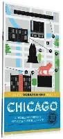 bokomslag City Scratch-Off Map Chicago