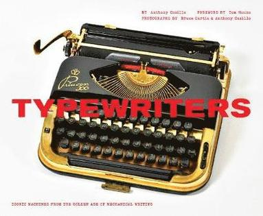 bokomslag Typewriters - iconic machines from the golden age of mechanical writing