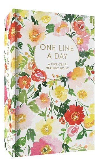 Dagbok Floral One Line a Day - A Five Year Memory Book