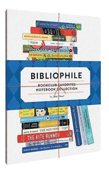 Skrivhäfte fp3 Bibliophile Book Club Favorites