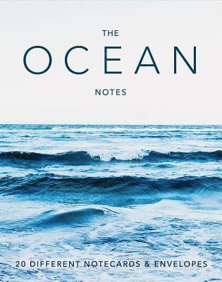 Kort dubbelvikta 20st me kuvert i aks The Ocean