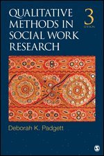 bokomslag Qualitative Methods in Social Work Research
