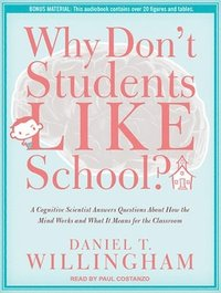 bokomslag Why Don't Students Like School? (Library Edition)