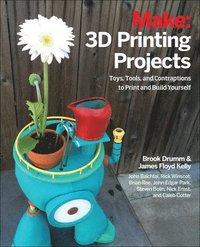 bokomslag 3D Printing Projects