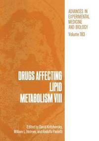 bokomslag Drugs Affecting Lipid Metabolism VIII