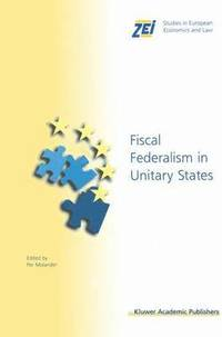 bokomslag Fiscal Federalism in Unitary States