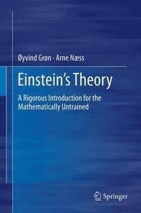 bokomslag Einstein's Theory