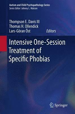 bokomslag Intensive One-Session Treatment of Specific Phobias