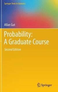 bokomslag Probability: A Graduate Course