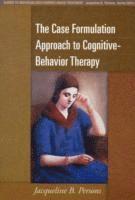 bokomslag Case formulation approach to cognitive-behavior therapy