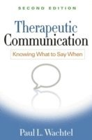 bokomslag Therapeutic communication - knowing what to say when