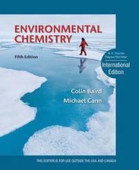 bokomslag Environmental Chemistry