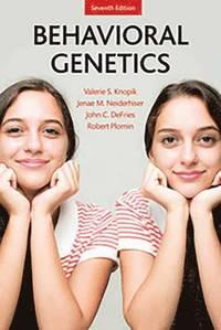 bokomslag Behavioral Genetics