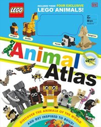 bokomslag Lego Animal Atlas: Discover the Animals of the World [With Toy]