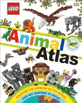 bokomslag Lego Animal Atlas (Library Edition): Discover the Animals of the World