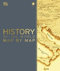 bokomslag History of the World Map by Map