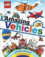 bokomslag Lego Amazing Vehicles (Library Edition)