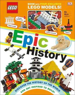 bokomslag Lego Epic History: Includes Four Exclusive Lego Mini Models [With Toy]