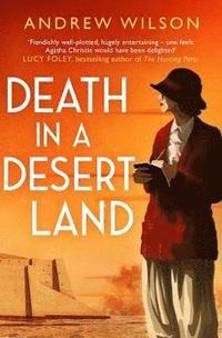 bokomslag Death in a Desert Land