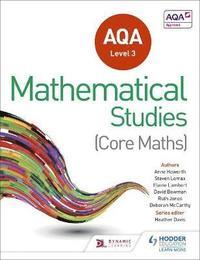 bokomslag AQA Level 3 Certificate in Mathematical Studies