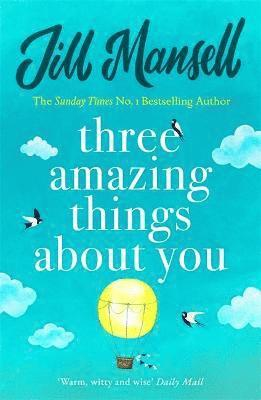 bokomslag Three Amazing Things About You