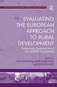 bokomslag Evaluating the European Approach to Rural Development
