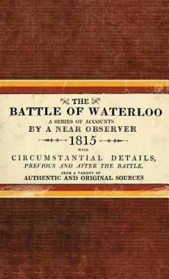 bokomslag Battle of waterloo