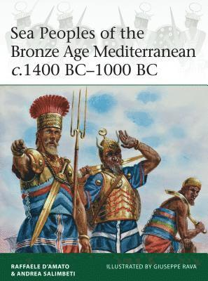 bokomslag Sea Peoples of the Bronze Age Mediterranean c.1400 BC-1000 BC