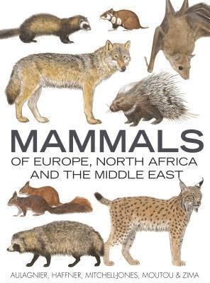 bokomslag Mammals of Europe, North Africa and the Middle East