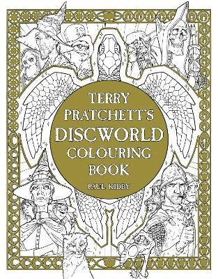 bokomslag Terry pratchetts discworld colouring book