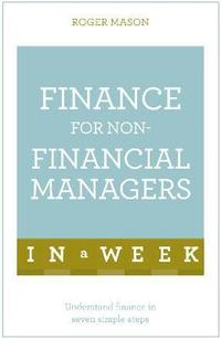 bokomslag Finance for non-financial managers in a week - understand finance in seven