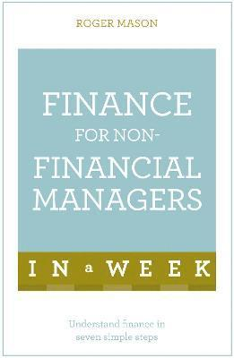 bokomslag Finance For Non-Financial Managers In A Week