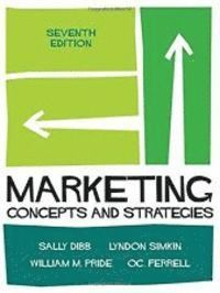 bokomslag Marketing: Concepts and Strategies