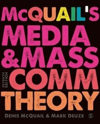 bokomslag McQuail's Media and Mass Communication Theory