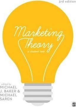 bokomslag Marketing Theory: A Student Text