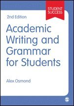 bokomslag Academic Writing and Grammar for Students