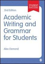 bokomslag Academic Writing and Grammar for Students