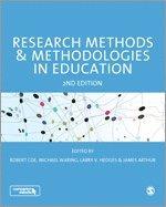 bokomslag Research methods and methodologies in education