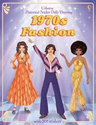 bokomslag Historical Sticker Dolly Dressing 1970's Fashion